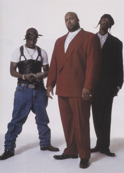 2Pac, Suge Knight and snoop..death row recs