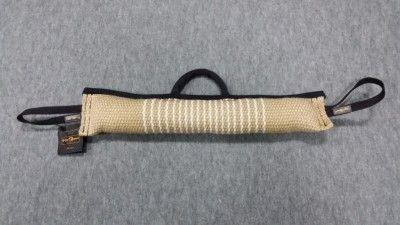 Gryzak z juty ekstra mocny z dwoma uchwytami i rączką 8 x 60cm