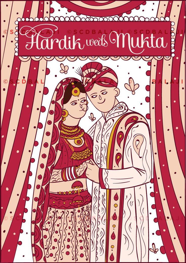 71 best Wedding Illustration Cards Inspiration images on Pinterest