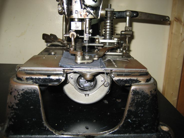 face view, hook and bobbin case