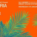 Icebergs x Sneaky Present DA MARIA BALI NYD+3 Wednesday 4th January 2017 ft. Guy Gerber (Rumours, Ibiza)
