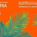 Icebergs x Sneaky Present DA MARIA BALI NYD+3 Wednesday 4th January 2017 ft. Guy Gerber (Rumours, Ibiza)