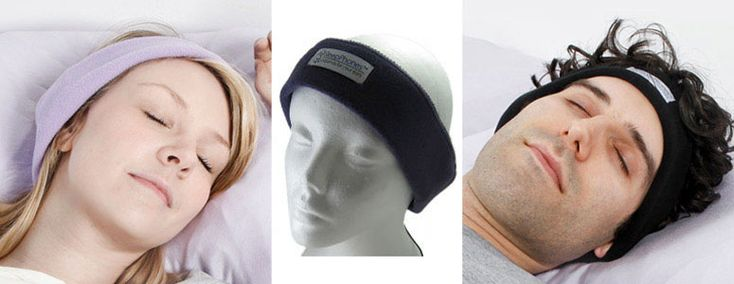 SleepPhones - Comfortable Headphones For Sleeping... I WILL have these in the VERY near future.