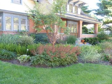 craftsman landscape design craftsman style home landscape design in merion square craftsman - Home Landscape Designs