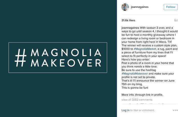 Magnolia Makeover Joanna Gaines