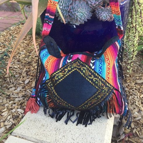 bohemian sling bag/ festival bag by belaciganabags on Etsy   bohemian bag.   hippie bag