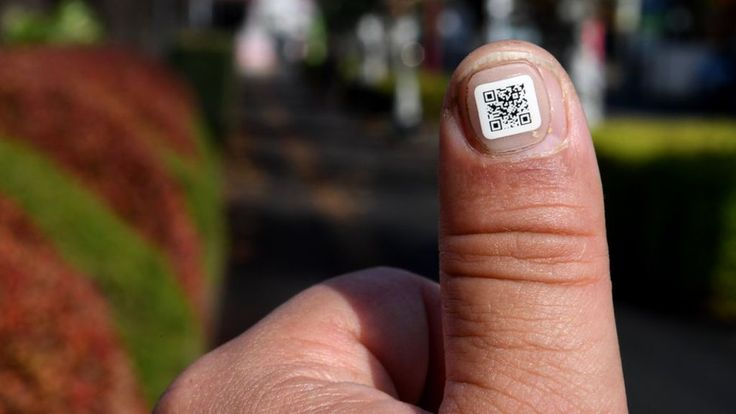 Japan tracks dementia patients with QR codes attached to fingernails - BBC News