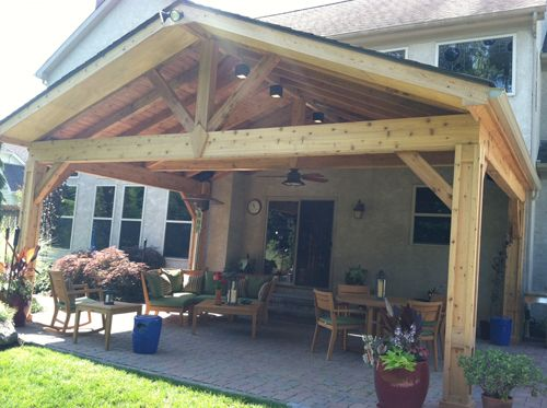 Porch Design Ideas Gable Roof Porch This Adds Character And Rustic Appeal To The Appearance