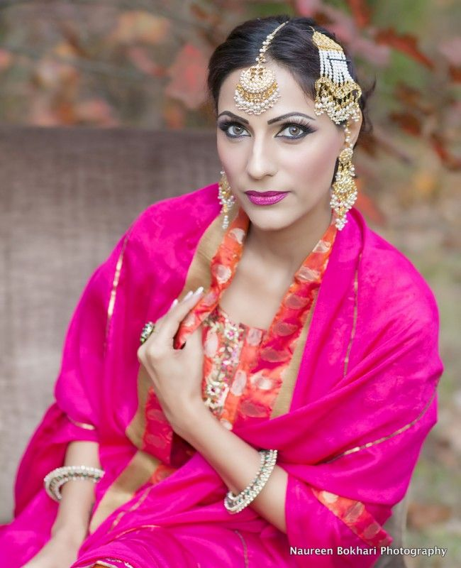asian wedding photography east midlands%0A South Asian wedding retro bridal look  with elaborate jewelry  incl jhoomar   u     maang tikka