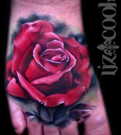 << zurück zur Lexikon-Übersicht << Die Rose wird als die schönste Blume bezeichnet. Seit über 2.000 Jahren wird sie schon gezüchtet, um sie zu verändern oder aus ihr den bekannten Rosenduft zu gewinnen. Als Tattoo-Motiv ist sie neben dem Lotus das meistgestochene Tattoo Blum…