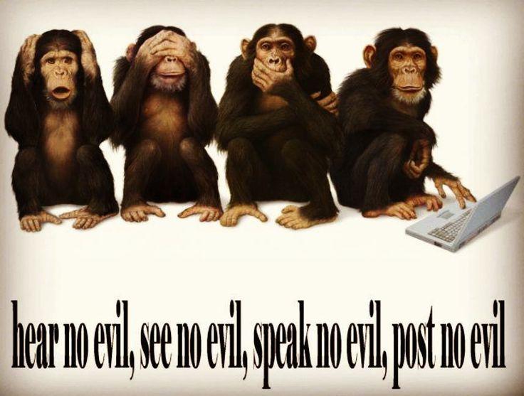 """Les trois petits singes de la Sagesse #Mizaru #Mikazaru et #Mazaru sont désormais rejoints par un quatrième petit singe : appelons-le #Makazaru """"Homo Sapiens Sapiens"""" veut dire """"Humanoïde Sage Sage"""". Sachant que l'ancienne espèce des Homo Sapiens s'est faite dévorer (oui oui nous sommes cannibales) par notre espèce """"évoluée"""" et étant donné que leurs crânes étaient plus grands que les nôtres  étaient-ils plus sages que nous ?  Un peu de philosophie et de généalogie dans ce monde de mort et…"""