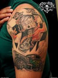 Image result for hot rod tattoo sleeve