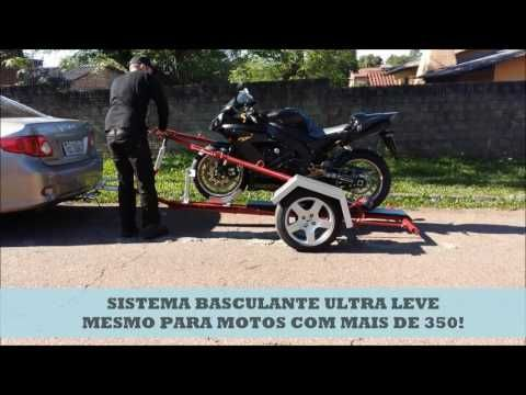 36 best traila para moto images on pinterest motorcycle for Basculante youtube