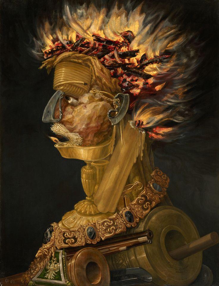 Giuseppe Arcimboldo The 16th Centurys Bizarre Illusion Painter Is Slowly Making A Comeback