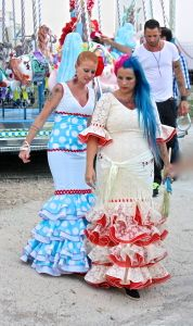 Colorful Style at the Nerja Feria
