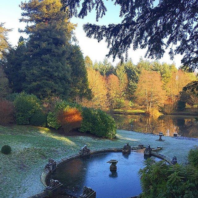 Beautiful morning frost blanketing the grounds across Cowley Manor. Image taken by one of our guests.