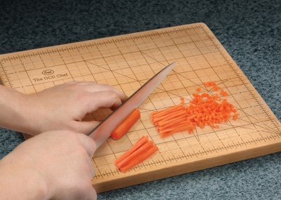 Not sure I would buy this...but funny..OCD Chef Board!