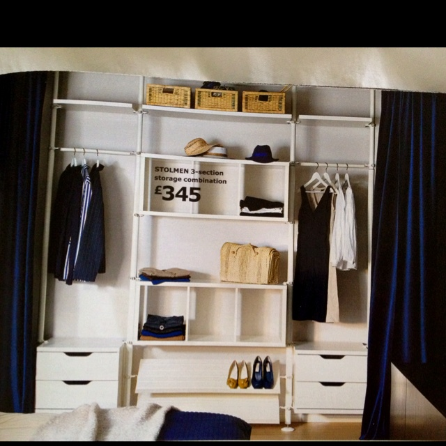 ikea stolmen i like the curtain idea bedroom ideas pinterest ideas the o 39 jays and. Black Bedroom Furniture Sets. Home Design Ideas