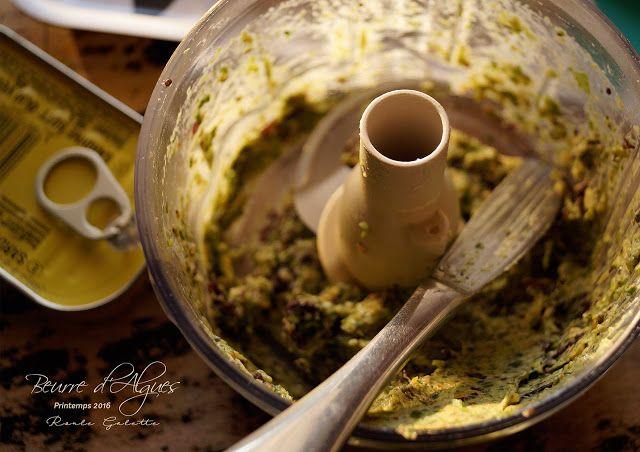 Roule Galette*: Beurre végétal d'Algues*