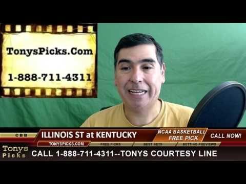 Kentucky Wildcats vs. Illinois St Pick Prediction NCAA College Basketbal...