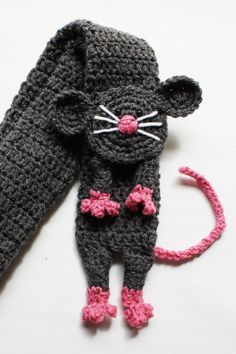 RAT scarf crochet PATTERN (not an actual scarf) that is done in PDF  Pattern: US instruction  Skill level for this pattern is intermediate. Instructions