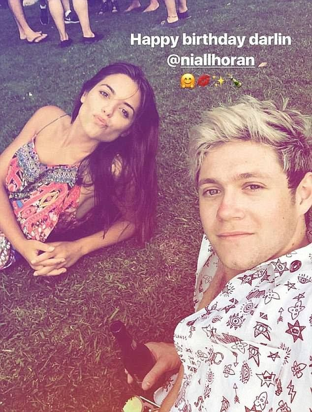Olympia Valance Denies Speculation She S Got A New Love Daily Mail Online Olympia Valance One Direction Niall Niall Horan
