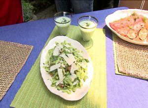 Celery Salad with Parmesan and Creamy Lemon Dressing | Recipes and ...