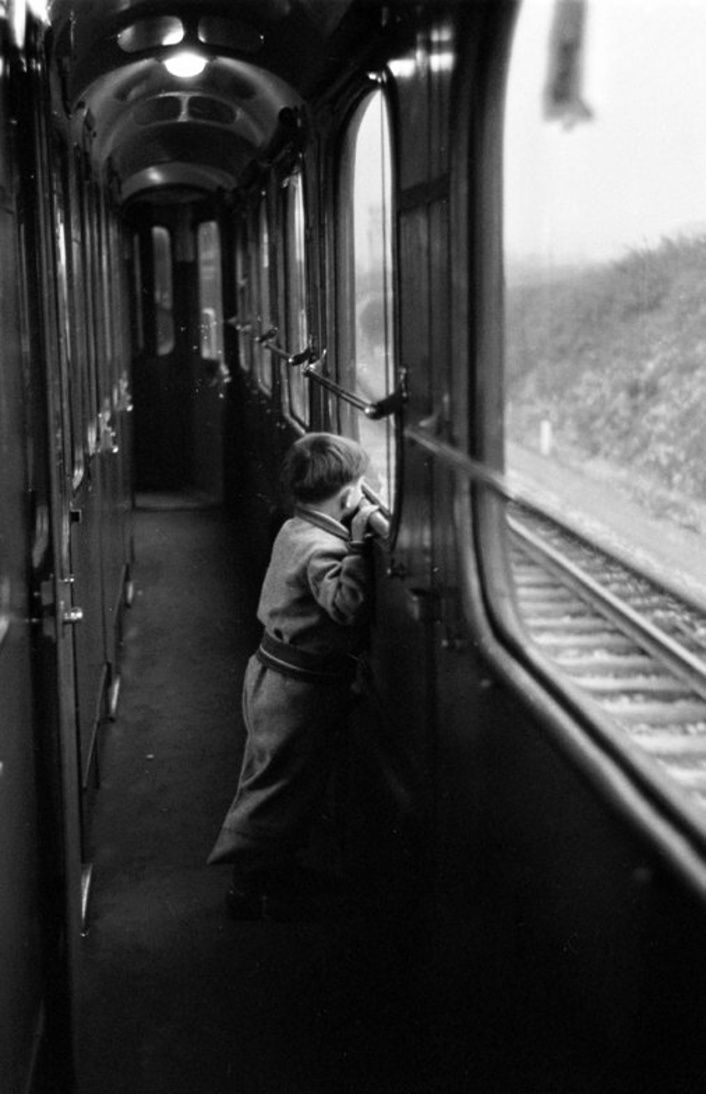 Jack Birns - Aboard the Simplon-Orient Express, 1950
