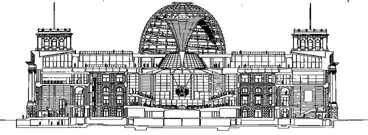 foster architect seccion