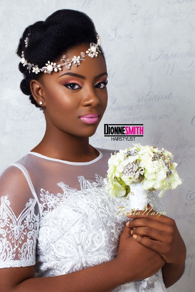 Dionne Smith- Natural hair bridal inspiration