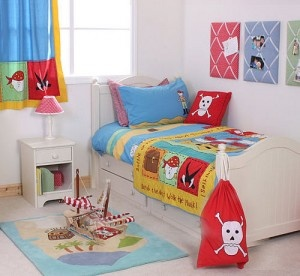 Pirate room-like the fabric boards