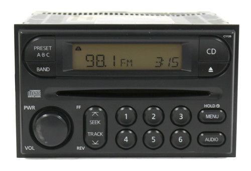 2005-2007 Nissan Xterra AM FM Radio Single CD Player Part 2818-EA011 Face CY13B