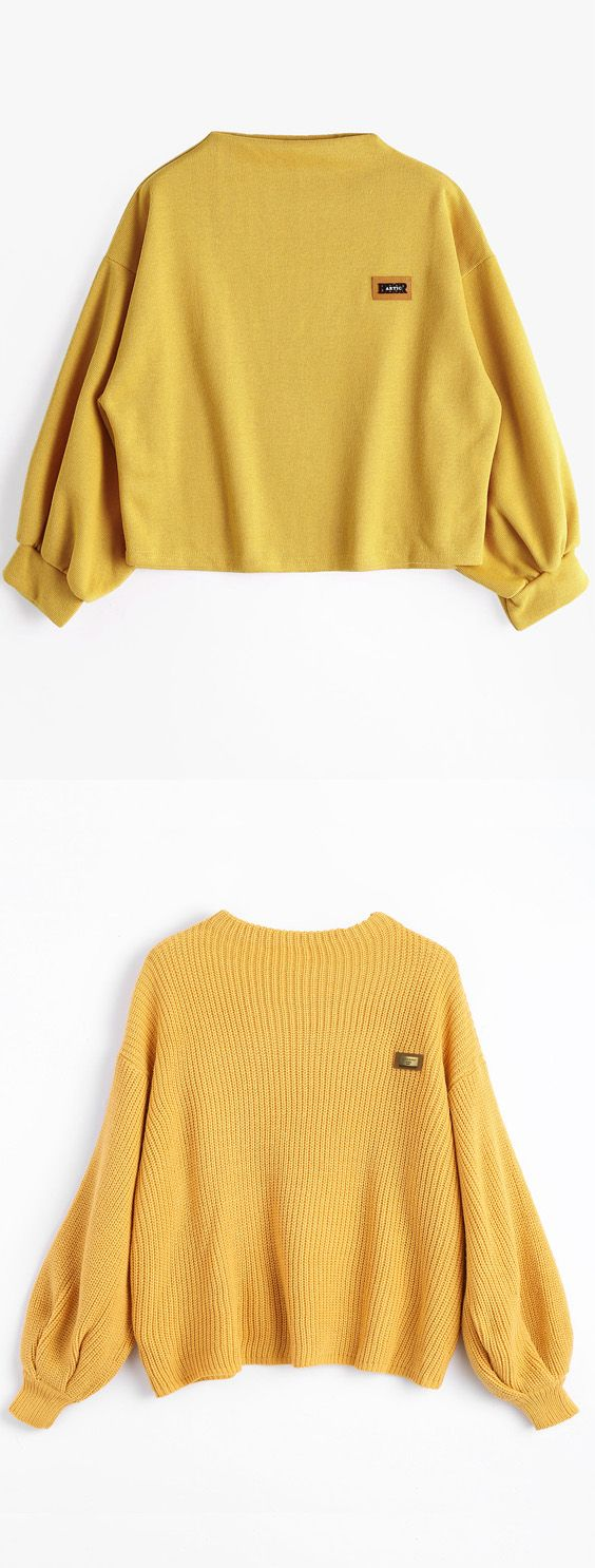 Up to 70% OFF! Oversized Chevron Patches Pullover Sweater. Zaful,zaful.com sweater dress, sweaters&cardigans, sweater,cardigans,choker sweater,chokers,chunky sweater,chunky,cardigans for women, knit, knitted, knitting, knitwear, cardigan, cardigan outfit, women tops, women outfits, blouses, women fashion,winter outfits,winter fashion,fall,fall outfits,fall fashion,autumn outfits, halloween costumes,halloween,halloween outfits,halloween tops. @zafulbikini Extra 10% OFF Code:zafulbikini