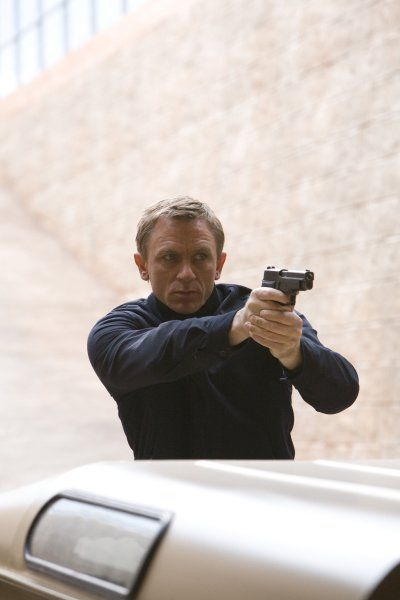 James Bond (Daniel Craig) descends into mystery as he tries to stop a mysterious organization from eliminating a country's most valuable resource. All the while, he still tries to seek revenge over the death of his love - in Quantum of Solace (2008)