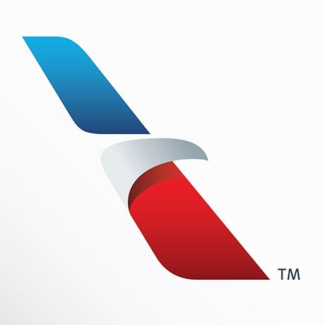 "Great new American Airline logo!! The eagle, the ""A"" in what seems to be the back of the plane. Congrats to the designers!"