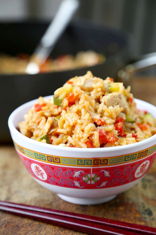 Szechuan Chicken Fried Rice