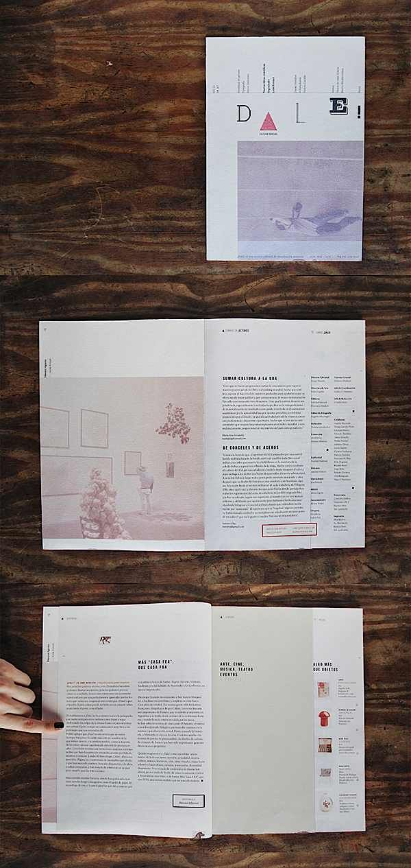 Editorial Design Inspiration: Dale Magazine