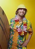 Гавайский костюм для мужчин