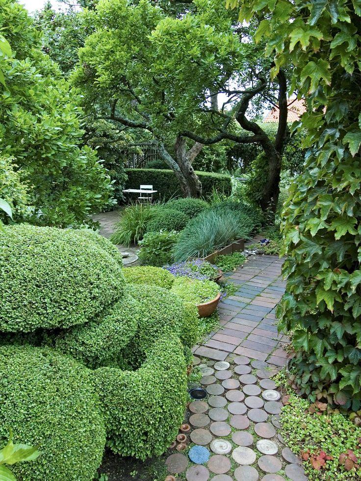 Ulla Molin garden design, Sweden