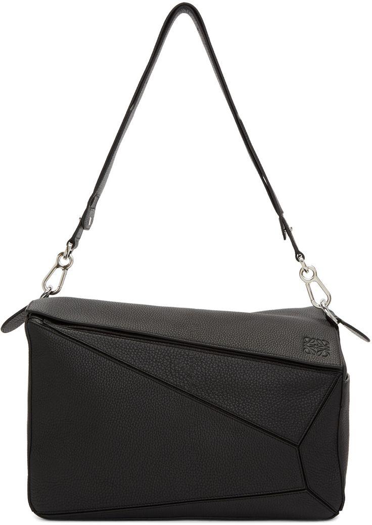 2200€ Loewe - Sac noir XL Puzzle