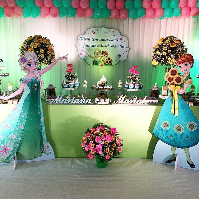 Disney Frozen Fever Birthday Party Ideas me encanta totalmente diferente!!!
