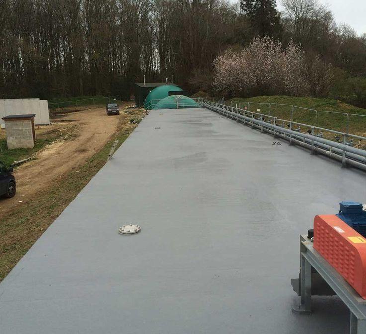 Bio Gas Polyurea Coating