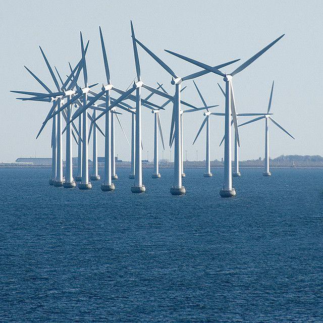 Windmills    Windmills outside Copenhagen.