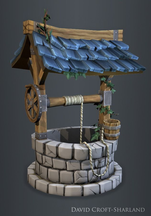 Show your hand painted stuff, pls! - Page 14 - Polycount Forum