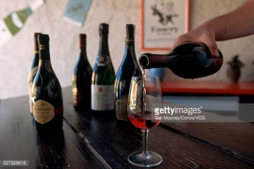 04-04 A wine maker at Emery Wines and Spirits pours a glass of... #embonas: 04-04 A wine maker at Emery Wines and Spirits pours a… #embonas