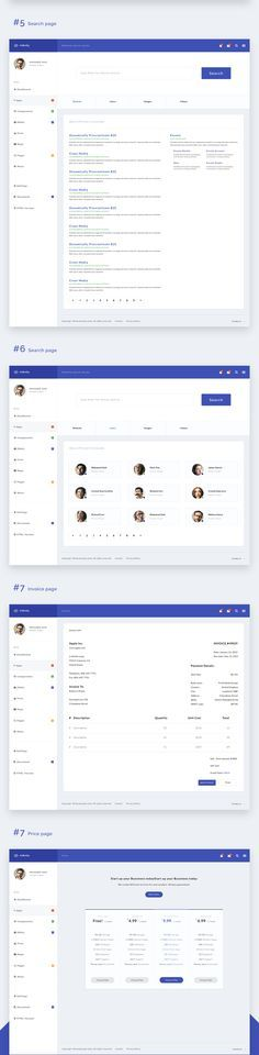 Fully responsive and full featured Web App and Admin Template powered by the popular Bootstrap framework. It is built with web developers in mind and focuses on providing a great User Experience with a modern design, fast User Interface and many awesome f…
