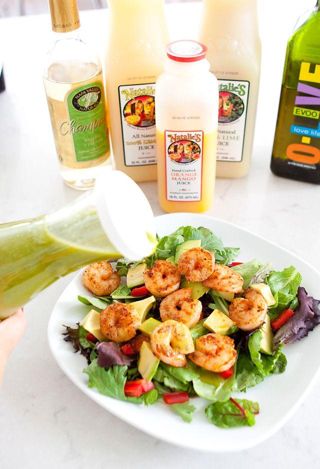 Armelle Blog: natalie's juice: spring salad with mango orange cilantro vinaigrette …