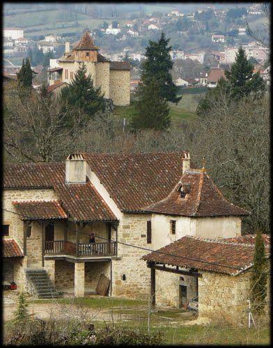 Les hauteurs de Figeac  France