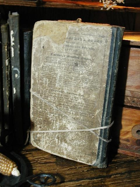 This is the witch book that I used in the woods.