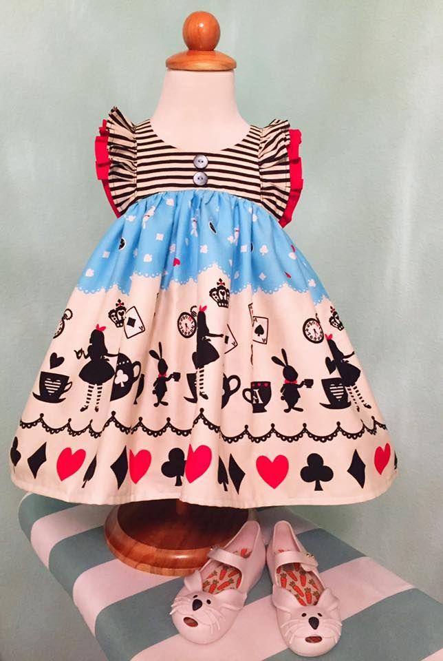 Alice in wonderland inspired Clara-Violette Field Threads